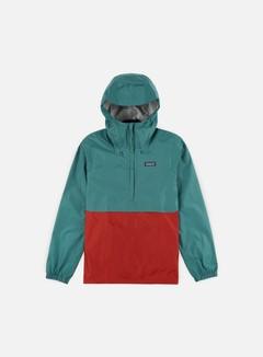 Patagonia - Torrentshell Pullover Jacket, Tamanian Teal
