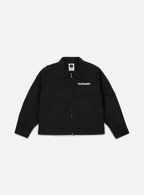 giacche polar skate train banks jacket black