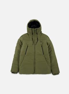 Puma - Archive Logo Padded Jacket, Olive Night 1