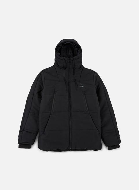 giacche puma archive logo padded jacket puma black