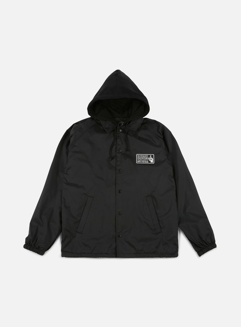 giacche rebel 8 bite it coaches jacket black