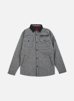 Rebel 8 - Born To Die Jacket, Grey 1