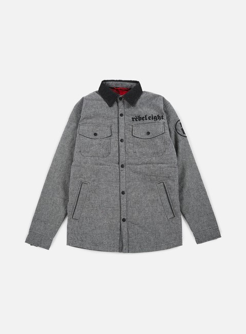 giacche rebel 8 born to die jacket grey