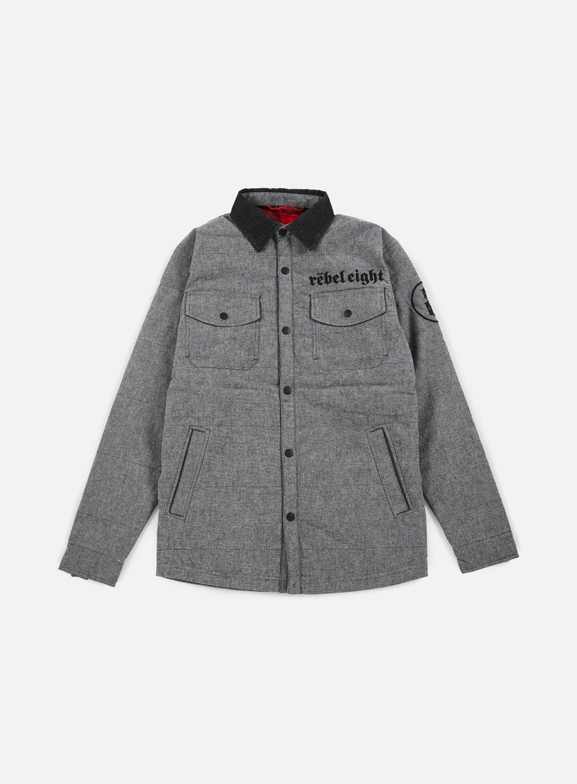 Rebel 8 - Born To Die Jacket, Grey