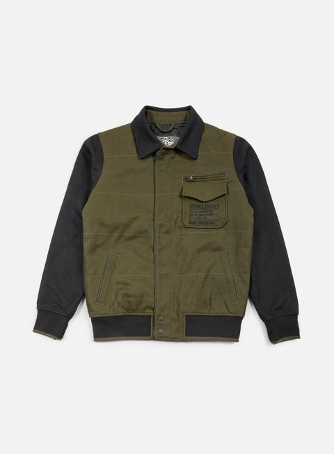 Bomber Jackets Rebel 8 Mens Varsity Jacket