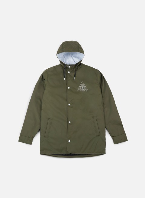 giacche rebel 8 sect hooded parka army