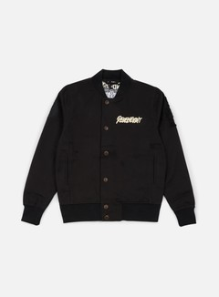 Rebel 8 - VIII Varsity Jacket, Black 1