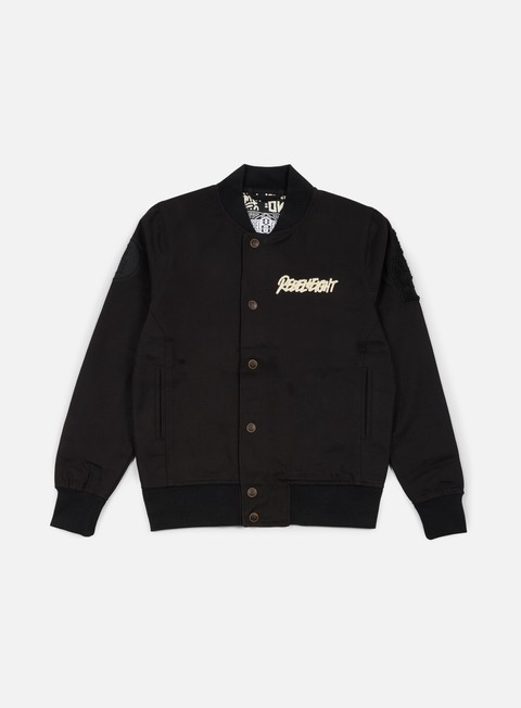 giacche rebel 8 viii varsity jacket black