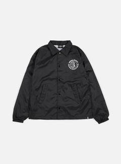 Rebel 8 - Worldwide Distro Coaches Jacket, Black 1