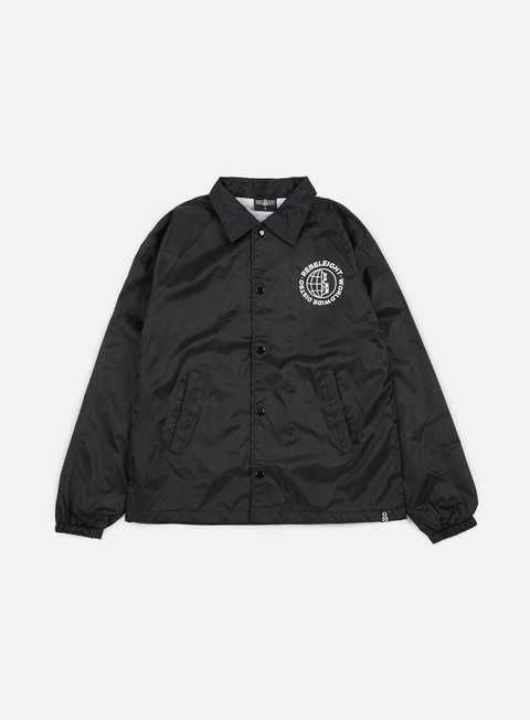 giacche rebel 8 worldwide distro coaches jacket black