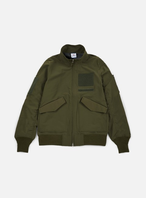 giacche reebok beams jacket pop green