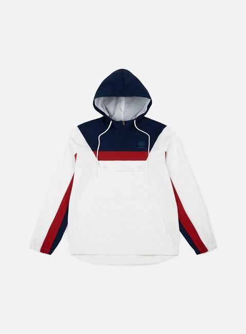 giacche reebok ef 1 2 zip anorak jacket white