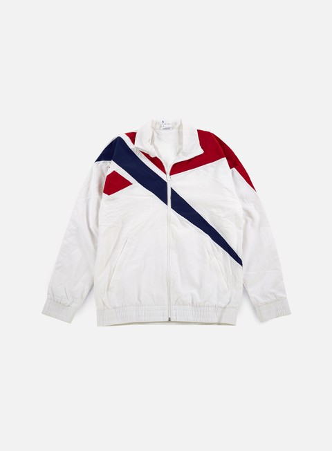 giacche reebok vector track top white