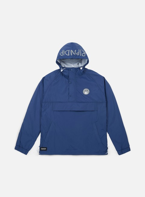 giacche rip n dip everything will be ok anorak jacket 3m navy