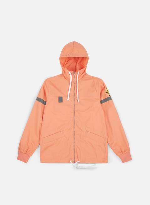giacche rip n dip everything will be ok jacket salmon