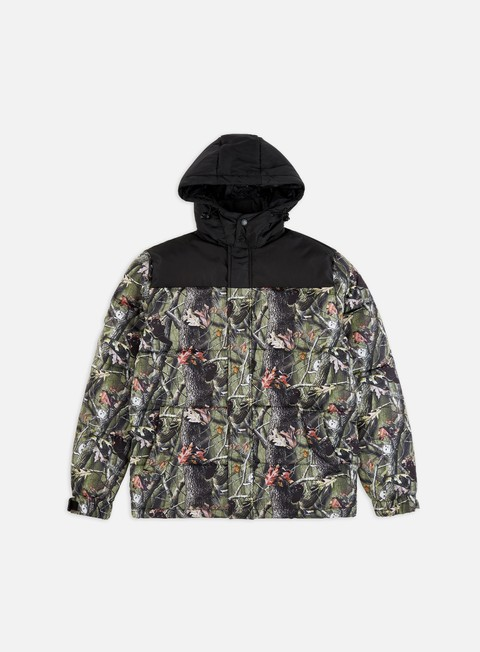 Winter Jackets Rip N Dip Nerm & Jerm Tree Camo Puffer Jacket