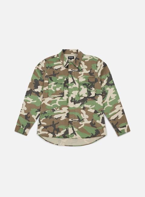 giacche rip n dip nerm skull army jacket camo