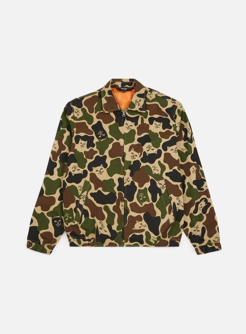 giacche rip n dip nermal coach jacket army camo