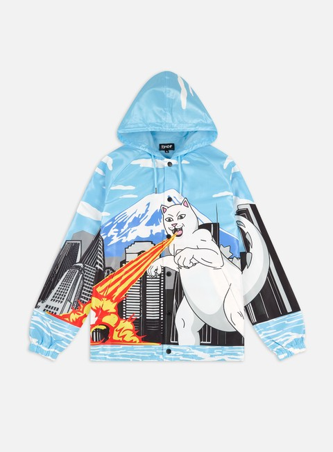 Rip N Dip Nermzilla Hooded Coach Jacket