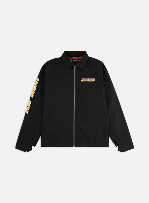 Light Jackets Rip N Dip Racing Team Cotton Twill Coach Jacket