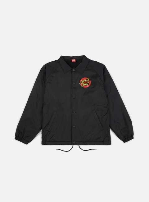 giacche santa cruz classic dot jacket black