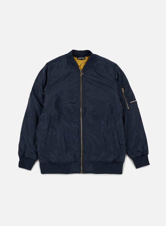 Santa Cruz - Guadalupe Bomber Jacket, Indigo