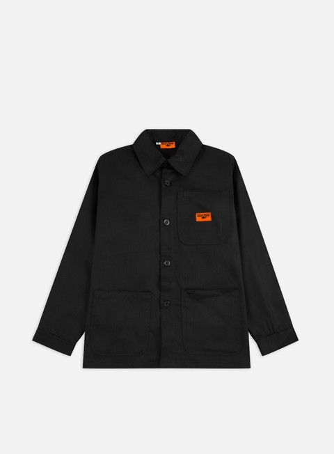 Long Sleeve Shirts Service Works Bakers Work Jacket