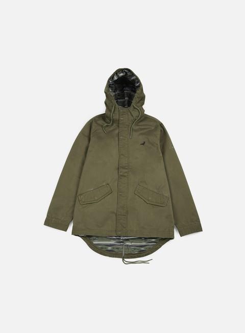 giacche staple apache parka olive