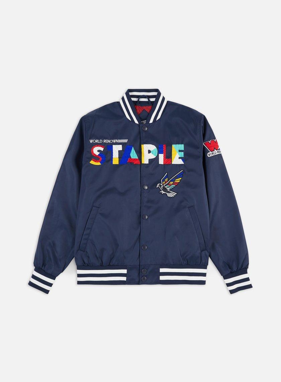 Staple Circuit Baseball Jacket