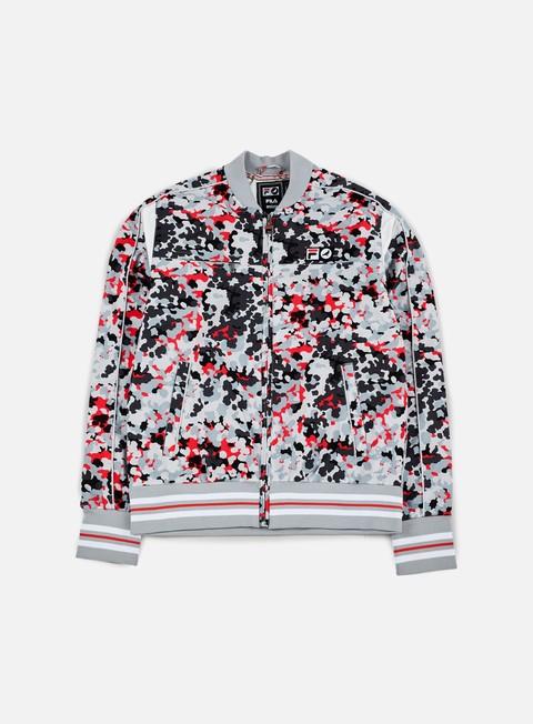 giacche staple fila camo nylon track jacket camo