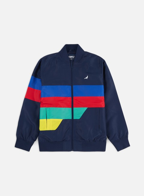 Light Jackets Staple Grand Prix Nylon Jacket