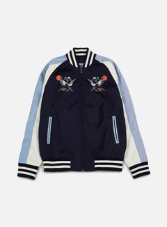 Staple - Pigeon Souvenir Jacket, Navy 1
