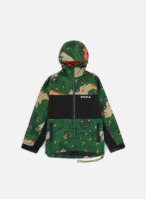 Giacche Leggere Staple Ripstop Camo Nylon Jacket