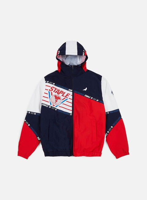 Giacche con Cappuccio Staple Trifecta Nylon Jacket