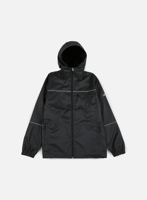 giacche stussy 3m ripstop jacket black