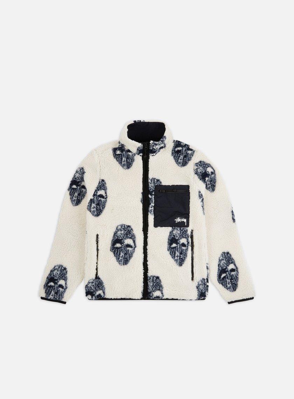 Stussy Mask Jacquard Sherpa Jacket