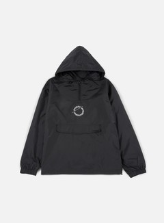 Stussy - Nylon Pop Over Jacket, Black 1