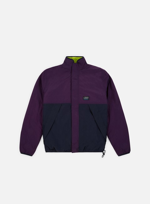 Intermediate Jackets Stussy Reversible Micro Fleece Jacket
