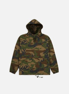 Stussy - Ripstop Pullover Jacket, Camo