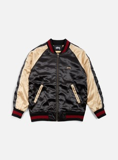 Stussy - Souviner Tour Jacket, Black 1