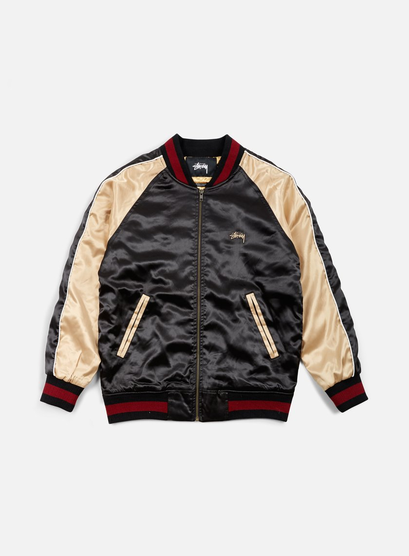 Stussy - Souviner Tour Jacket, Black