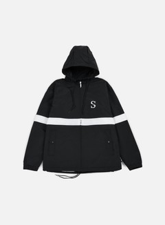 Stussy - Sport Nylon Jacket, Black 1