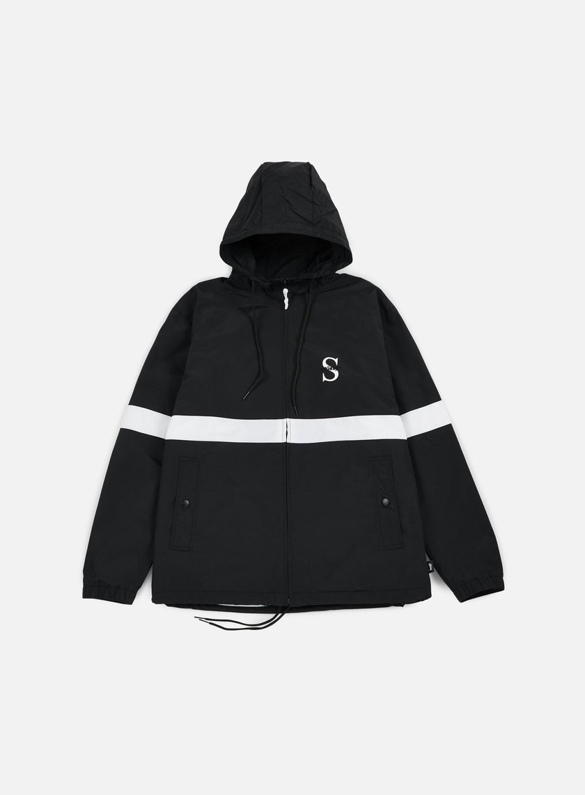 Stussy - Sport Nylon Jacket, Black