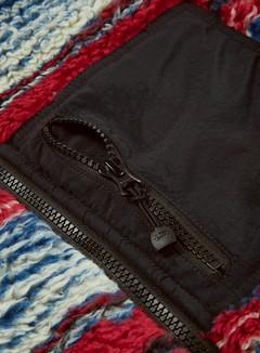 Stussy Striped Sherpa Vest