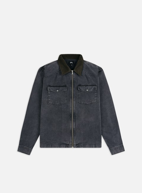Giacche Leggere Stussy Washed Canvas Work Shirt Jacket