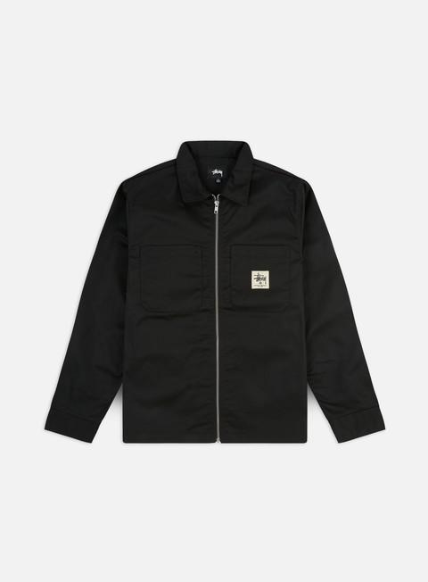 Giacche Leggere Stussy Zip Up Work LS Shirt