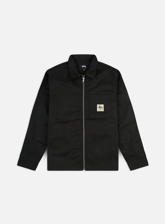 Stussy Zip Up Work LS Shirt