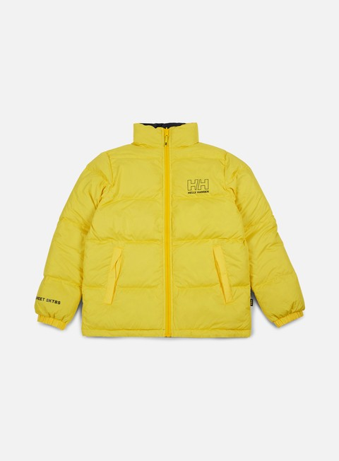 giacche sweet sktbs x helly hansen sweet hh down jacket yellow navy