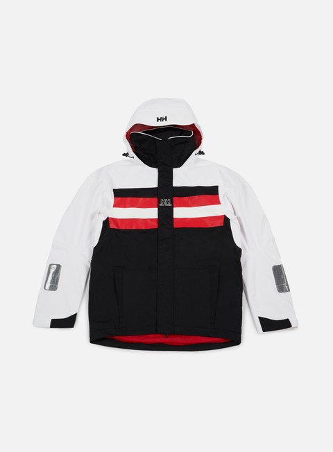 giacche sweet sktbs x helly hansen sweet hh sailing jacket black white red