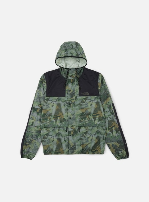 giacche the north face 1985 seas mountain jacket english green camo print